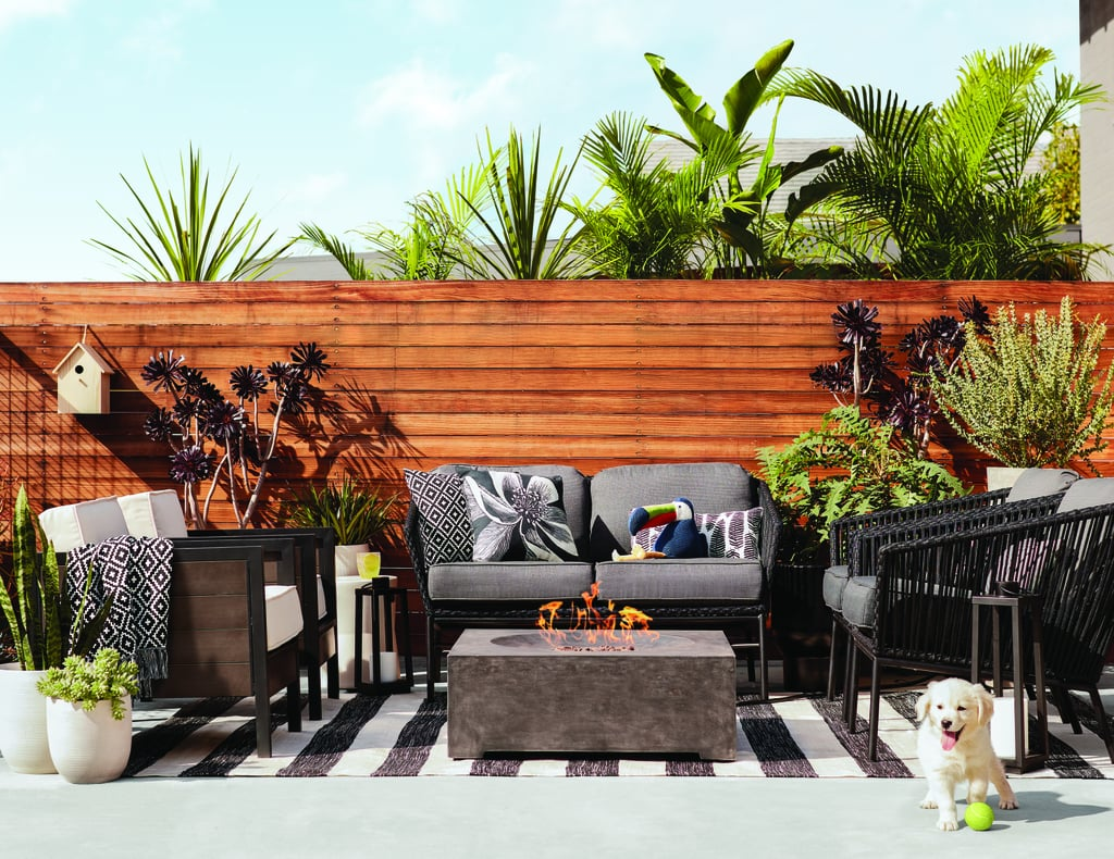Modern Outdoor Living Room | Target Summer 2017 Home ... on Target Outdoor Living id=70570
