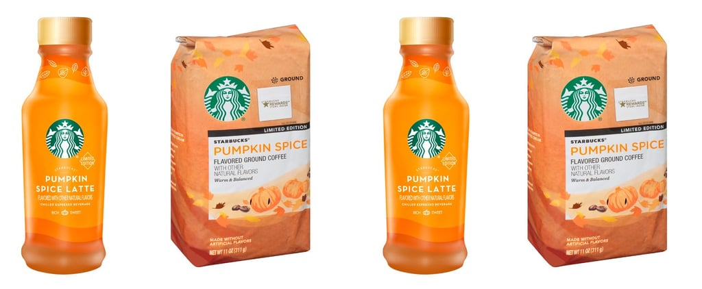 Yes! Brand-New Starbucks Pumpkin Spice Goodies Will Be in Grocery Stores Soon!