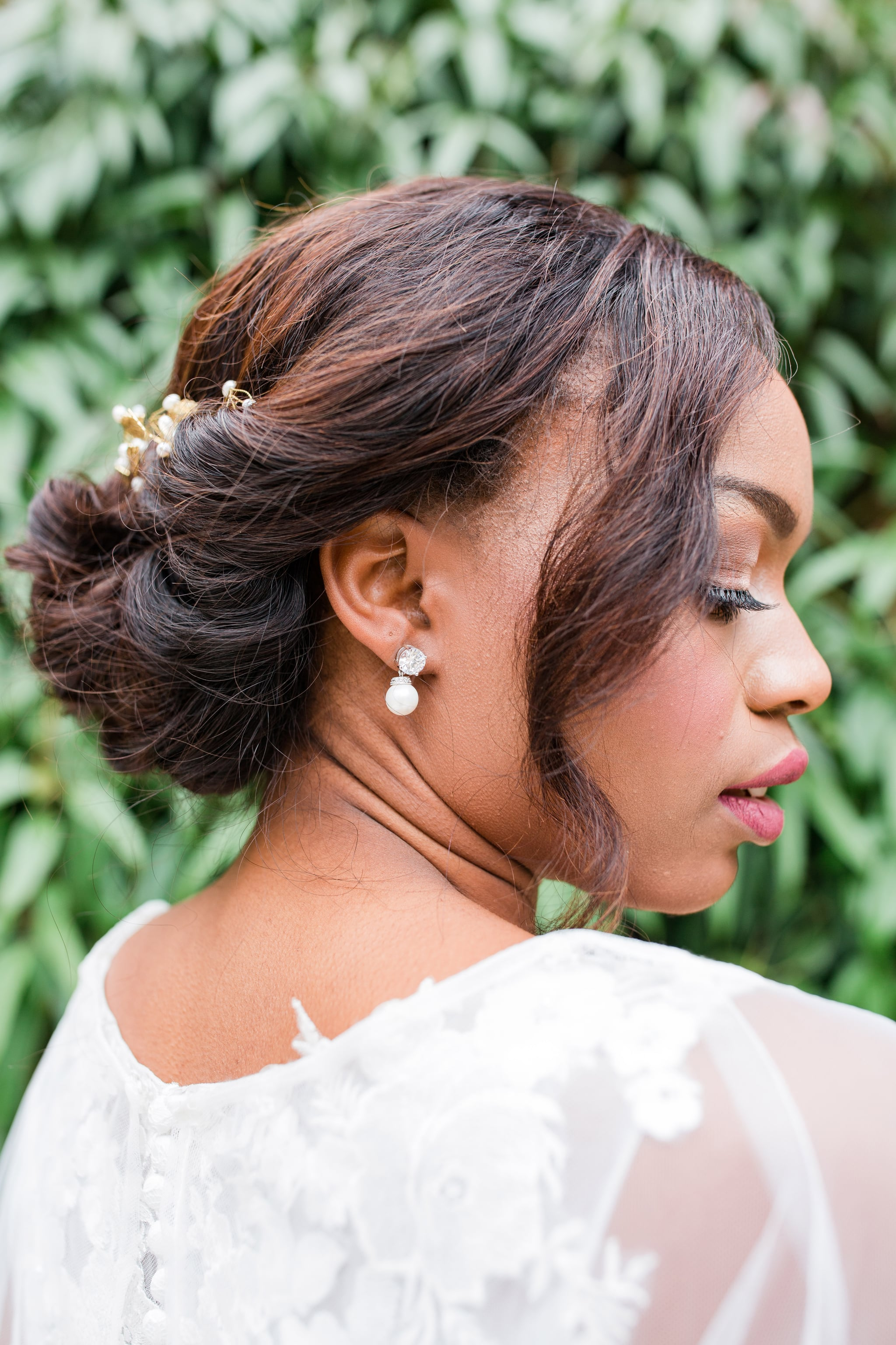 Bridal Hairstyle Inspiration For Black Women Popsugar Beauty