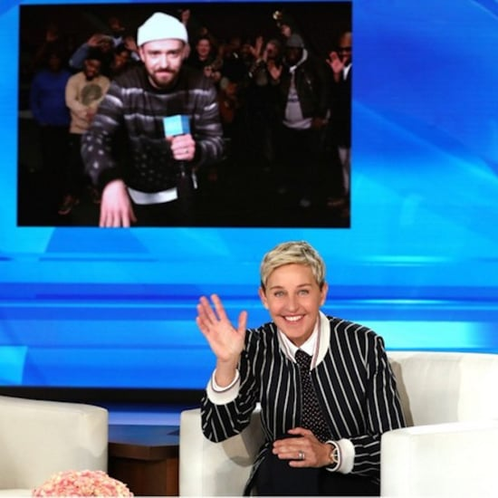 Justin Timberlake Sings Happy Birthday to Ellen 2018 Video