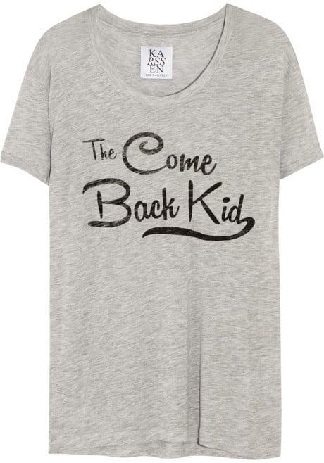 Zoe Karssen Come Back Kid Jersey T-Shirt ($75)