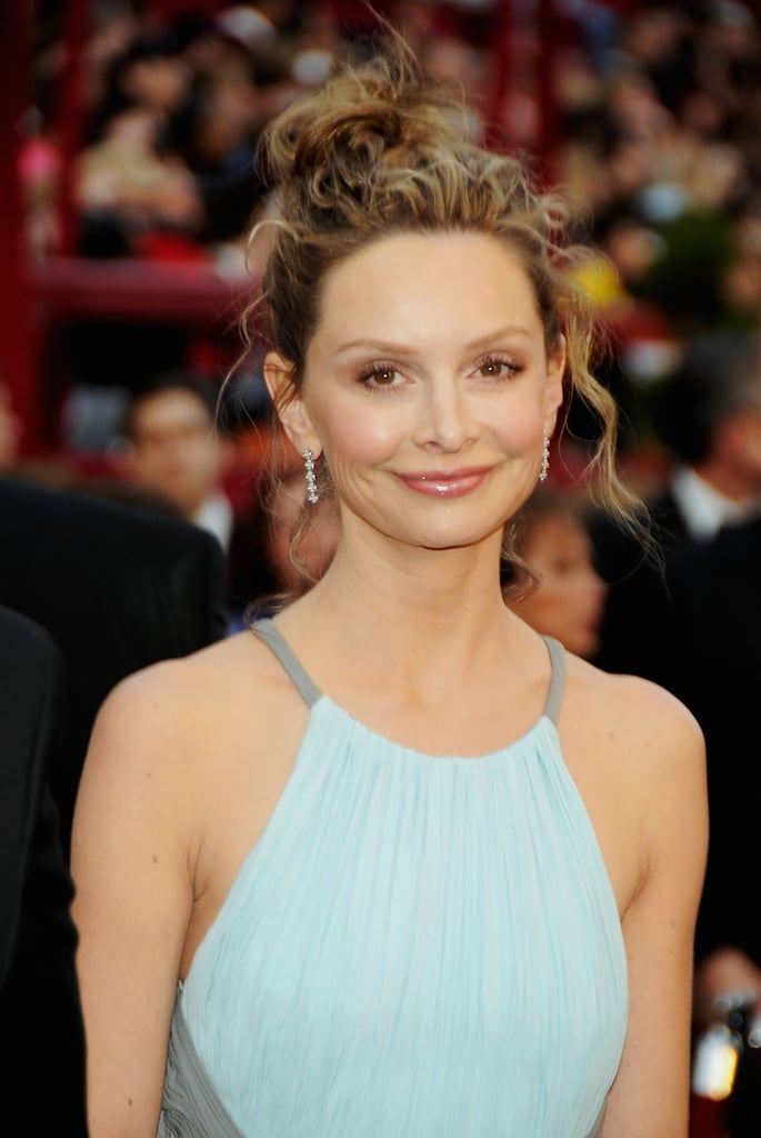 Calista Flockhart 2008 Worst Oscars Hair And Beauty