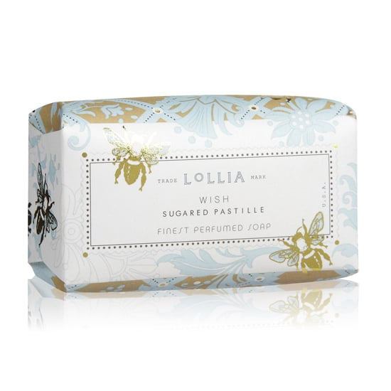 Not only does this Lollia Wish Shea Butter Soap ($10) come wrapped in gorgeous packaging, but also, the bar soap inside smells pretty decadent.