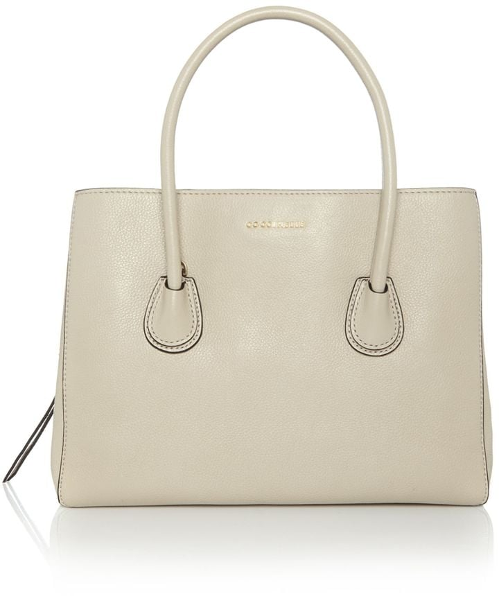 Coccinelle Celly neutral ew tote bag (£275)