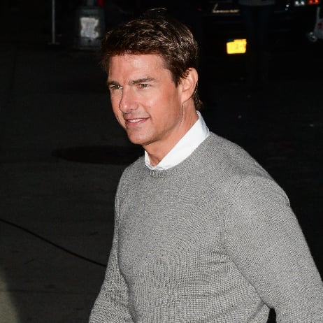Tom Cruise at the Late Show For Jack Reacher   Pictures