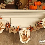 Handprint Turkey Banner