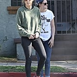 Kristen Stewart and Alicia Cargile's Stroll in LA | Pictures