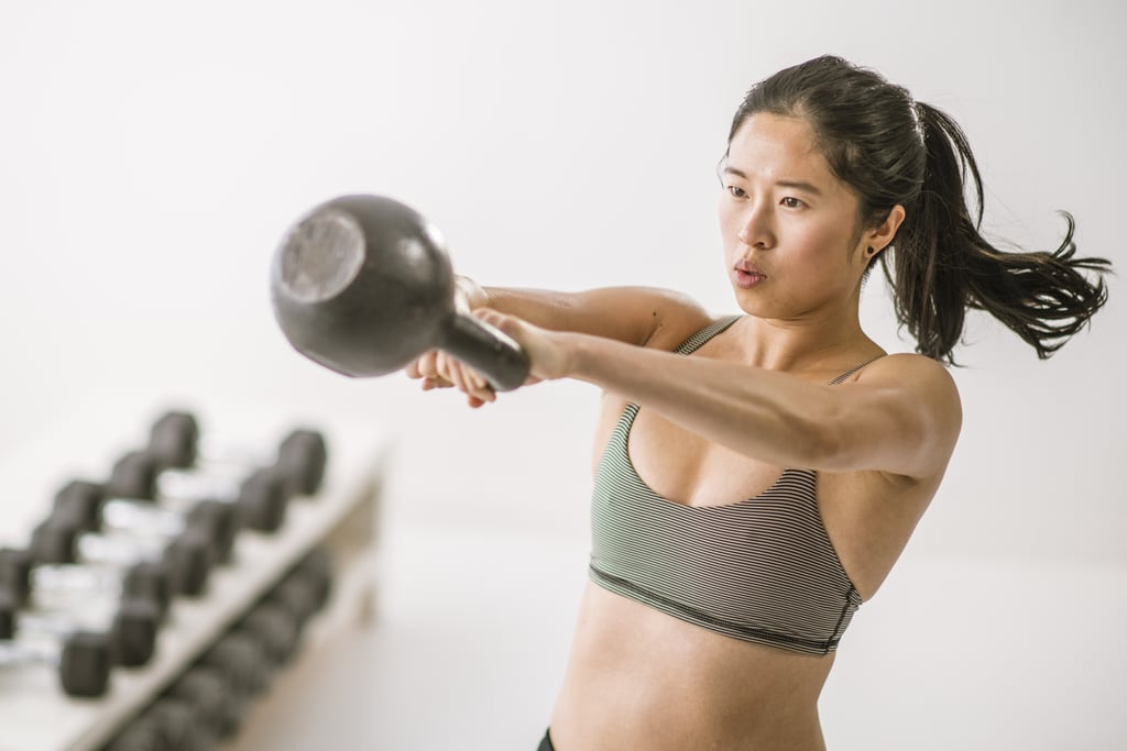 16-Minute Kettlebell Workout For Strength and Cardio