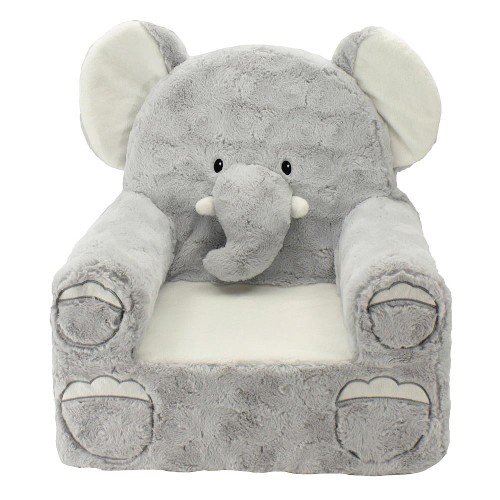 Elephant nursery decor popsugar moms for Small stuffed chairs