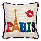 Jonathan Adler Jet Set Paris Pillow