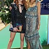 Emma Roberts and Rachel Zoe