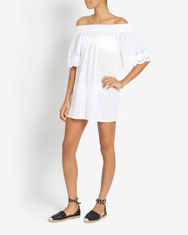 Alexis Collins Off-the-Shoulder Dress ($298)