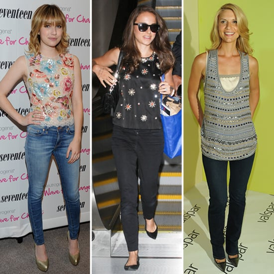 Embellished Tops (Celebrity Pictures and Shopping)