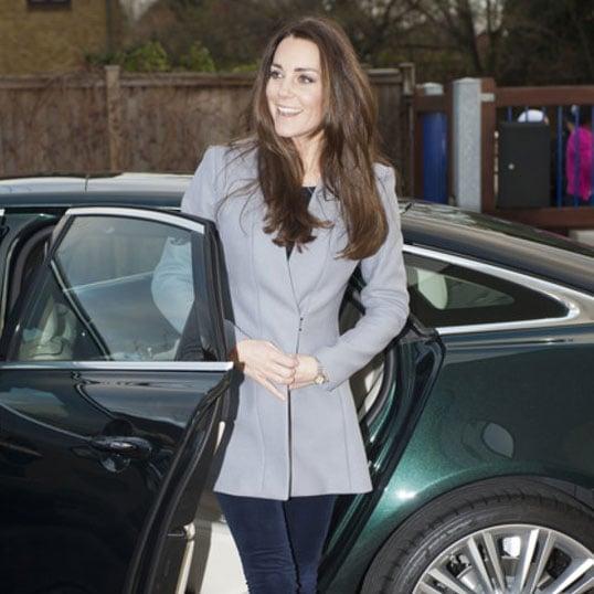 Kate Middleton Gray Coat