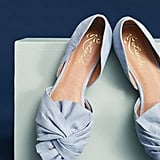 Anthropologie Liendo by Seychelles Knotted Bow Flat