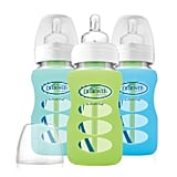 Dr. Brown's Options 3 Piece Wide Neck Glass Bottle