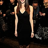 Ashley Greene went to NYFW.