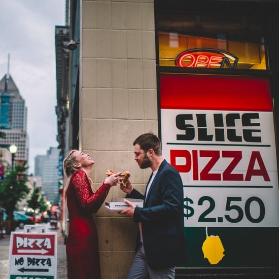 Pizza City Engagement Shoot