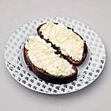 Ricotta Cheese Toast With Honey