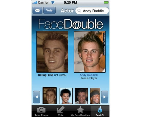 find your celeb look alike