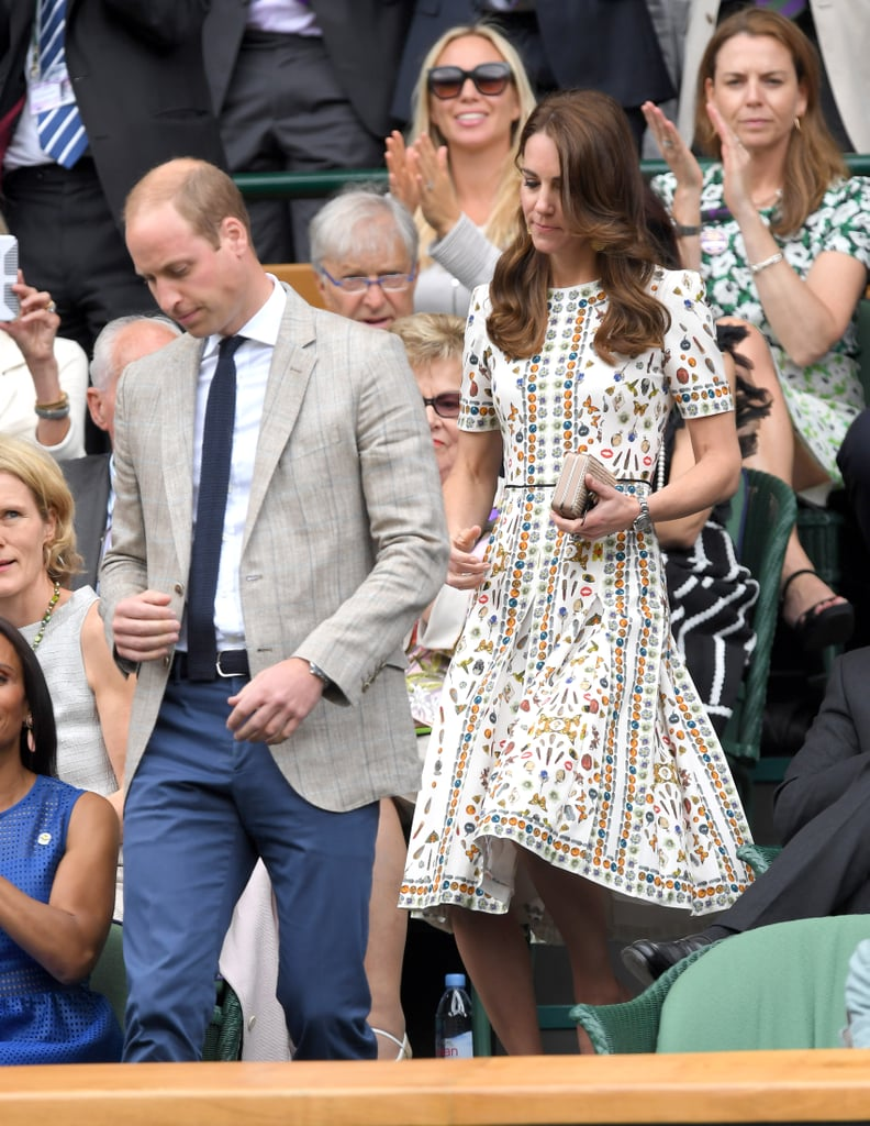 Kate's Printed Dress Seemed Pretty Simple . . .