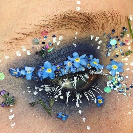 Flower Eyeliner Trend