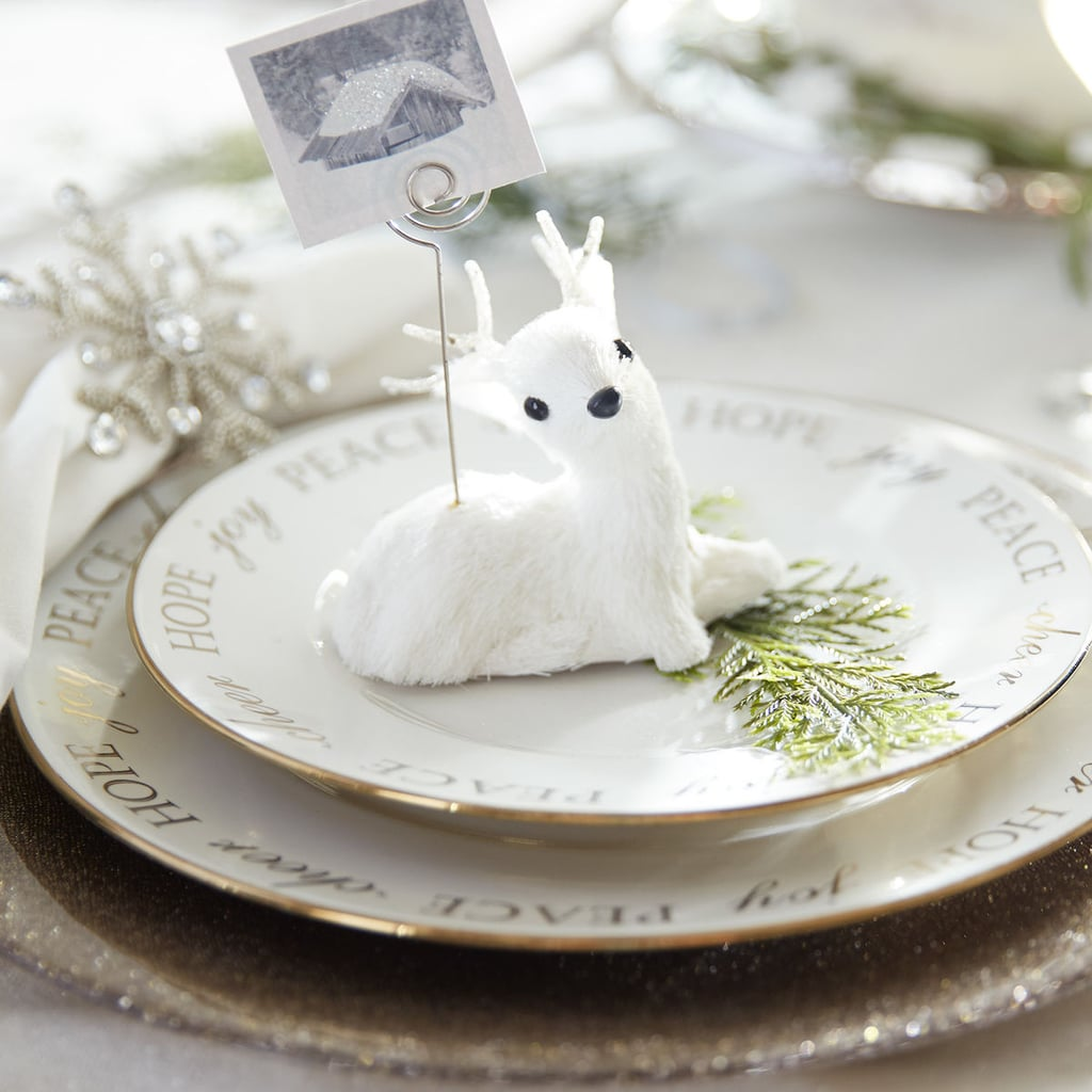 White Deer Place Card Holder ($5)