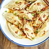 Spicy Chicken Potstickers