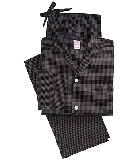 Houndstooth Flannel Pajamas Was $79.50 Now $59.63 @ Brooks Brothers