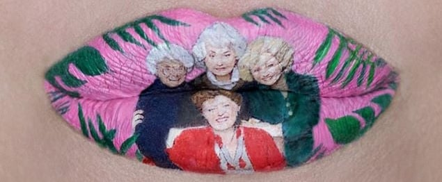 Golden Girls Lip Art