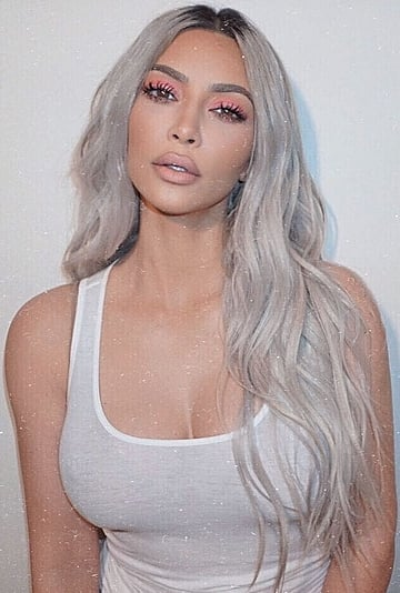 Kim Kardashian Going Platinum Blond After Social Distancing