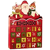 Wooden Christmas Advent Calendar With 24 Drawers