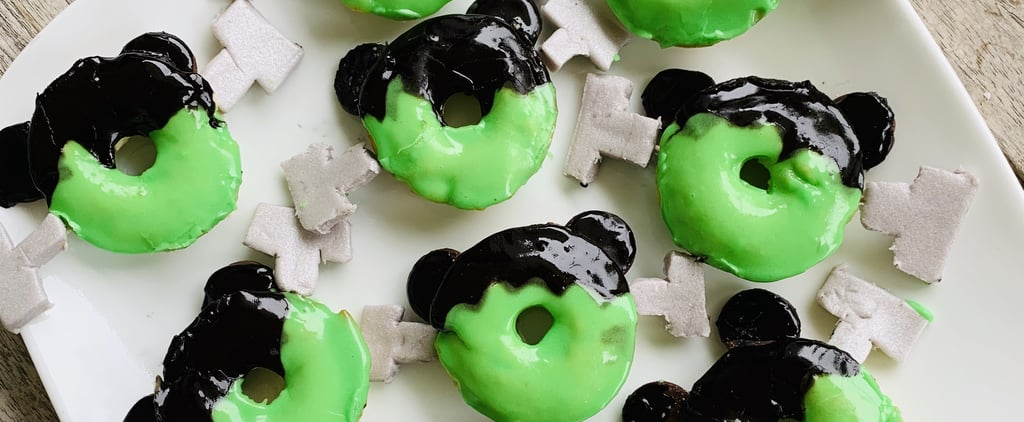 Mickey Mouse Frankenstein Doughnuts Recipe