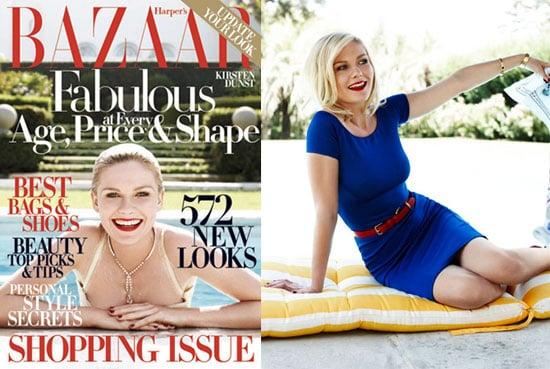 Photos and Interview with Kirsten Dunst in Harper's Bazaar
