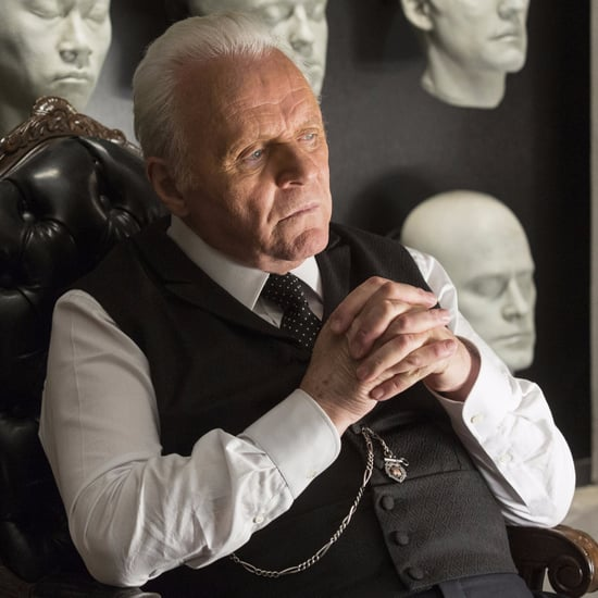 Young Anthony Hopkins on Westworld