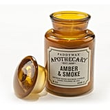 Paddywax Amber & Smoke Apothecary Candle