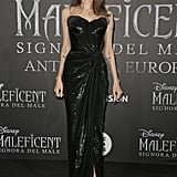 Angelina Jolie at the 2019 European Premiere of Maleficent: Mistress of Evil