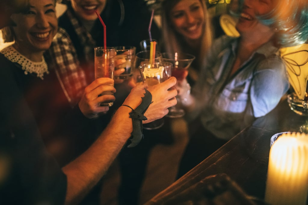 6 Halloween Drinking Games That'll Get You and Your Friends in the Spooky Spirit