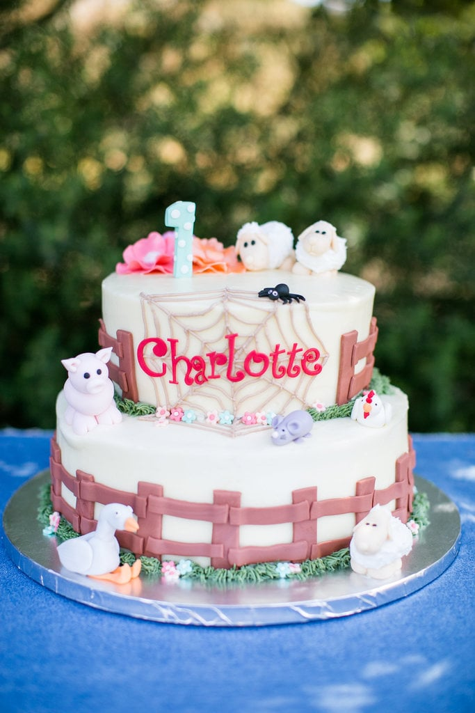 Charlottes Web Unique Birthday Cakes For Baby And Toddler