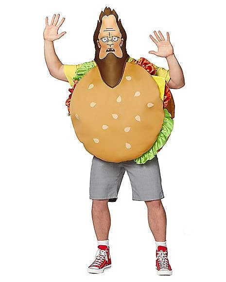 Adult Beefsquatch Costume From Bob's Burgers