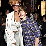 Pictured with: Rihanna