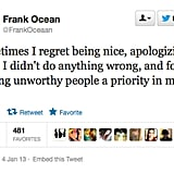 You deserve better, Frank Ocean!