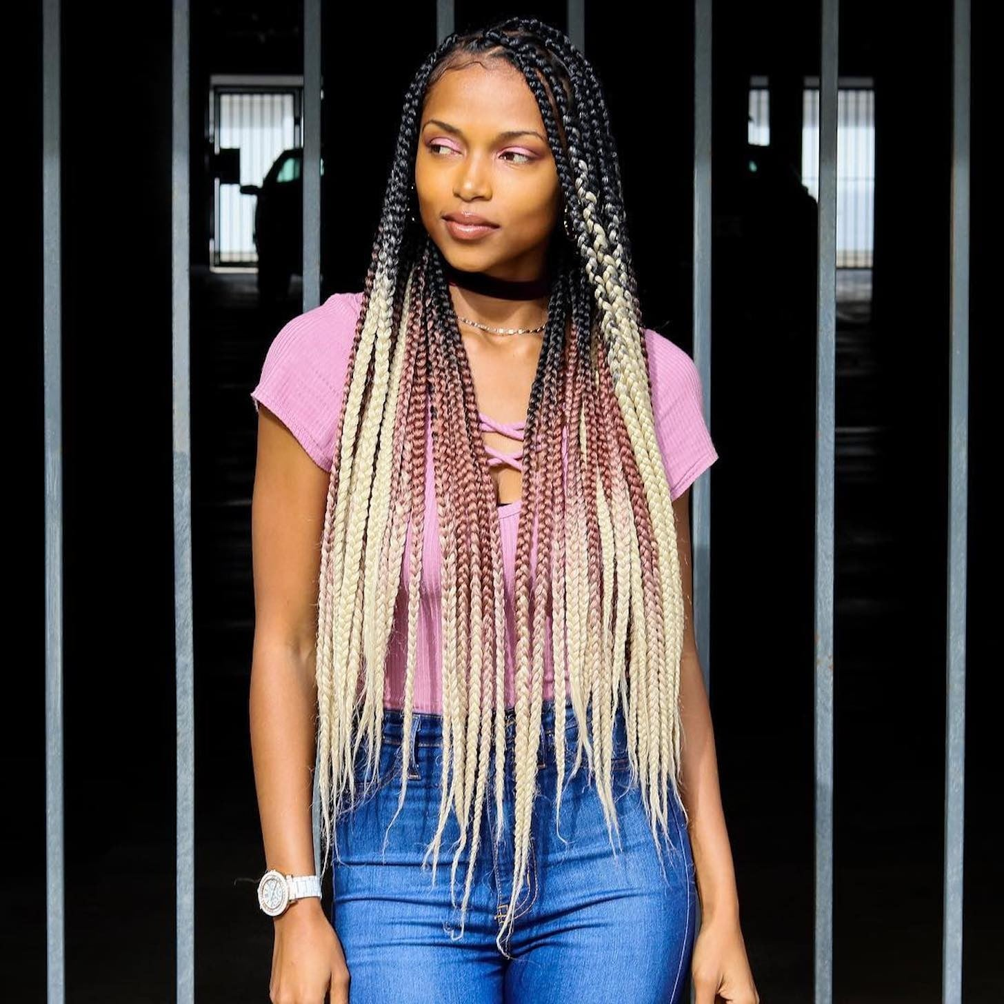 Box Braid Hairstyles 2019 Popsugar Beauty Uk