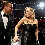 Pictured: Leonardo DiCaprio and Kate Winslet