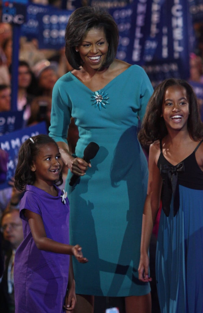 Michelle Obama Cute Pictures With Malia and Sasha