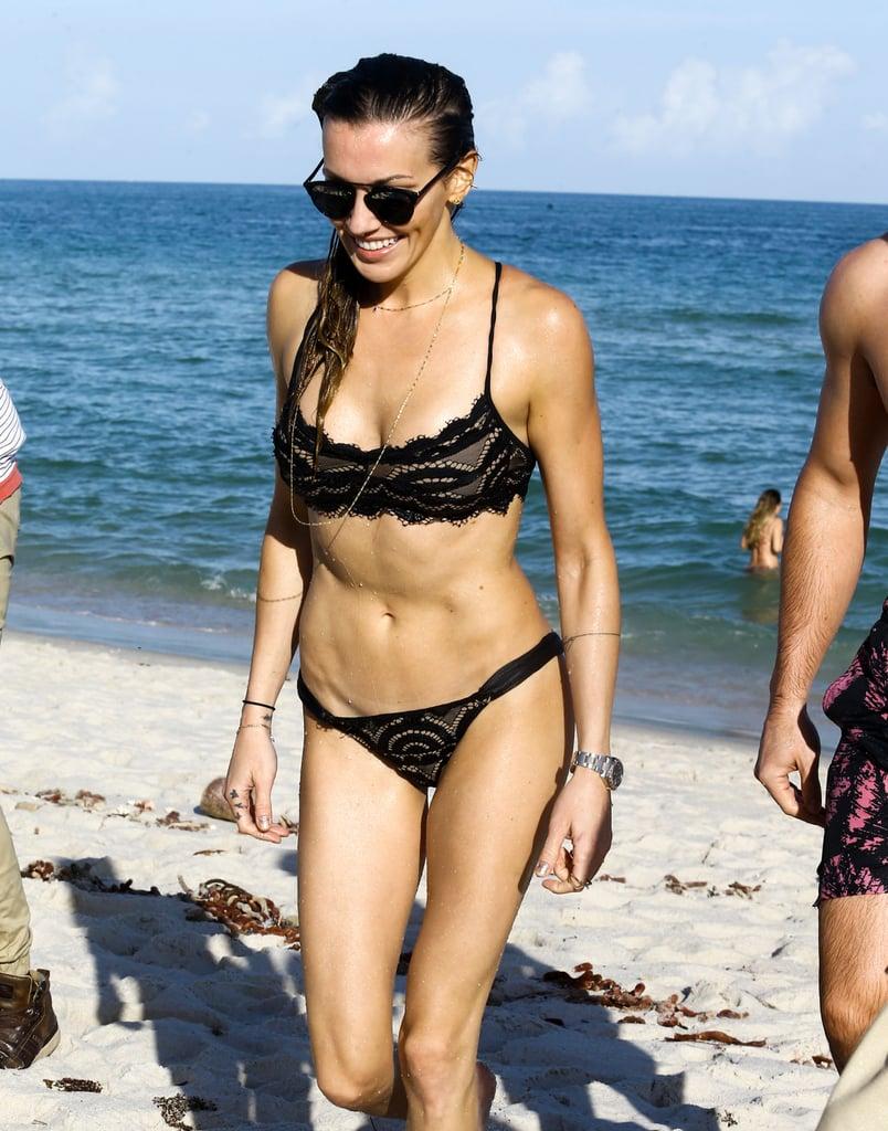 Katie Cassidy Bikini Pictures in Miami December 2016