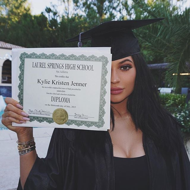 Kylie Jenner's Graduation Party Included Twerking, Synchronised Swimmers, and a Photo Booth