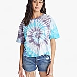 I Stole My Boyfriend's Shirt Cosmo Tie Dye Mother Tee