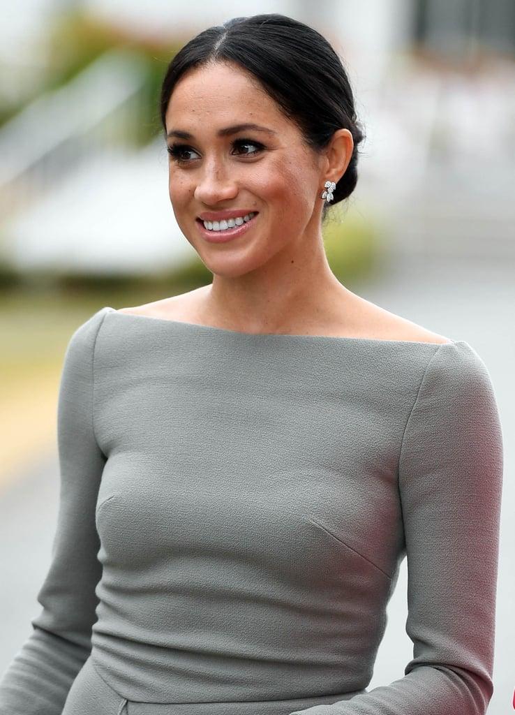 Meghan Markle Bateau Neckline Dresses