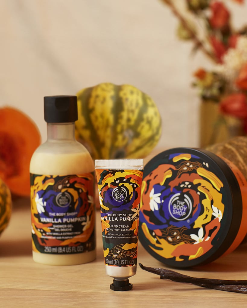 The Body Shop Autumn Vanilla Pumpkin Collection 2020